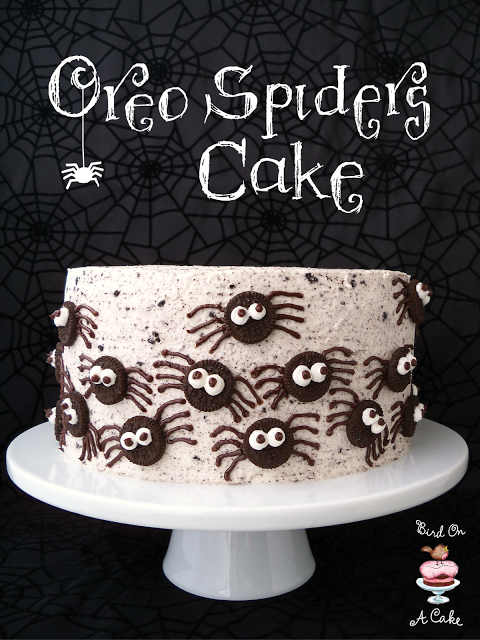 Oreo Spiders Cake 2 Title
