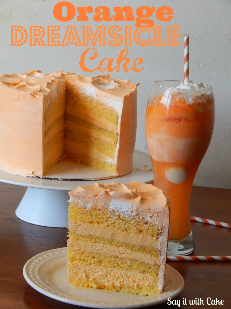 orange creamsicle cake