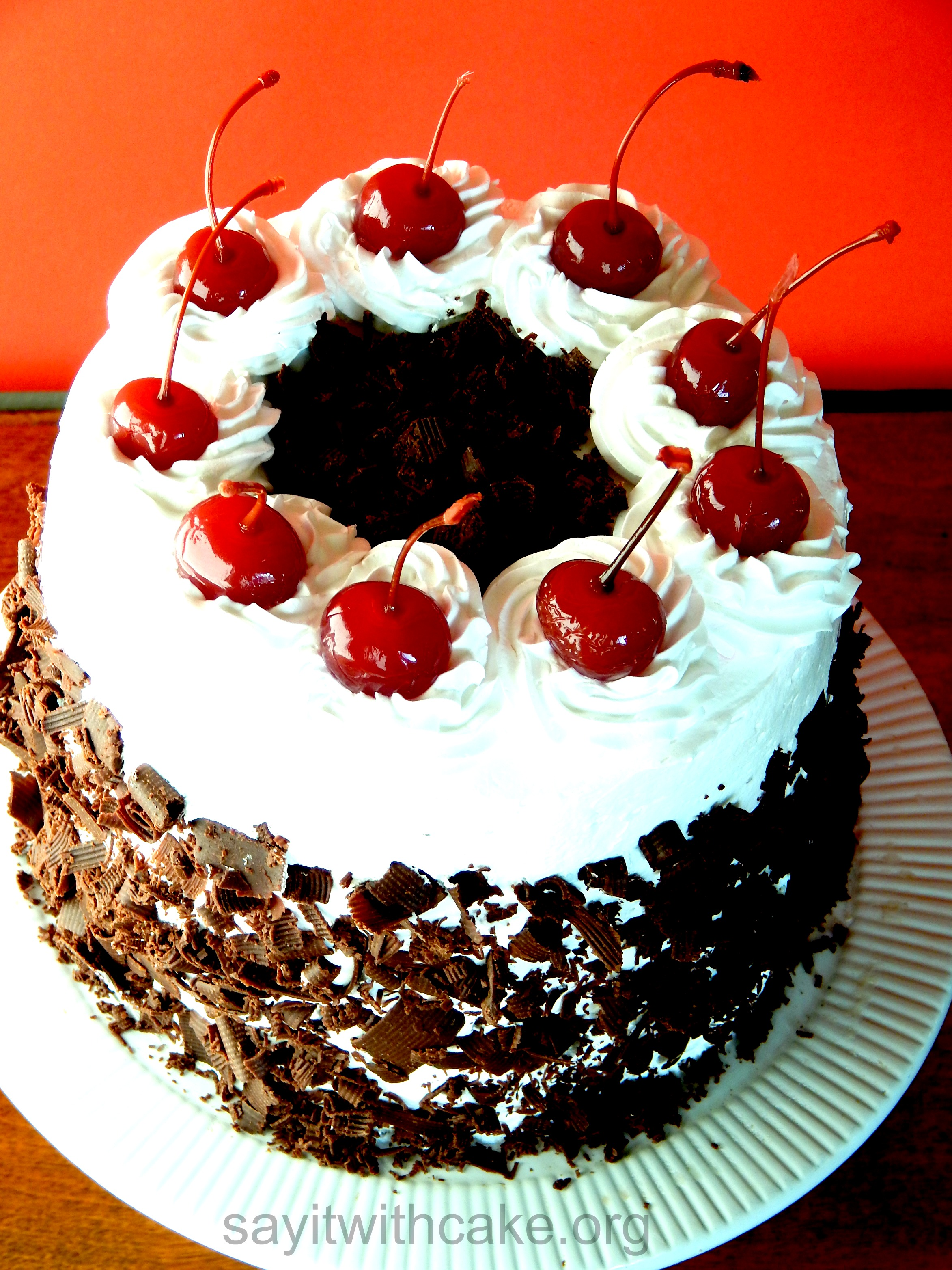 Black Forest Cake Say It With Cake