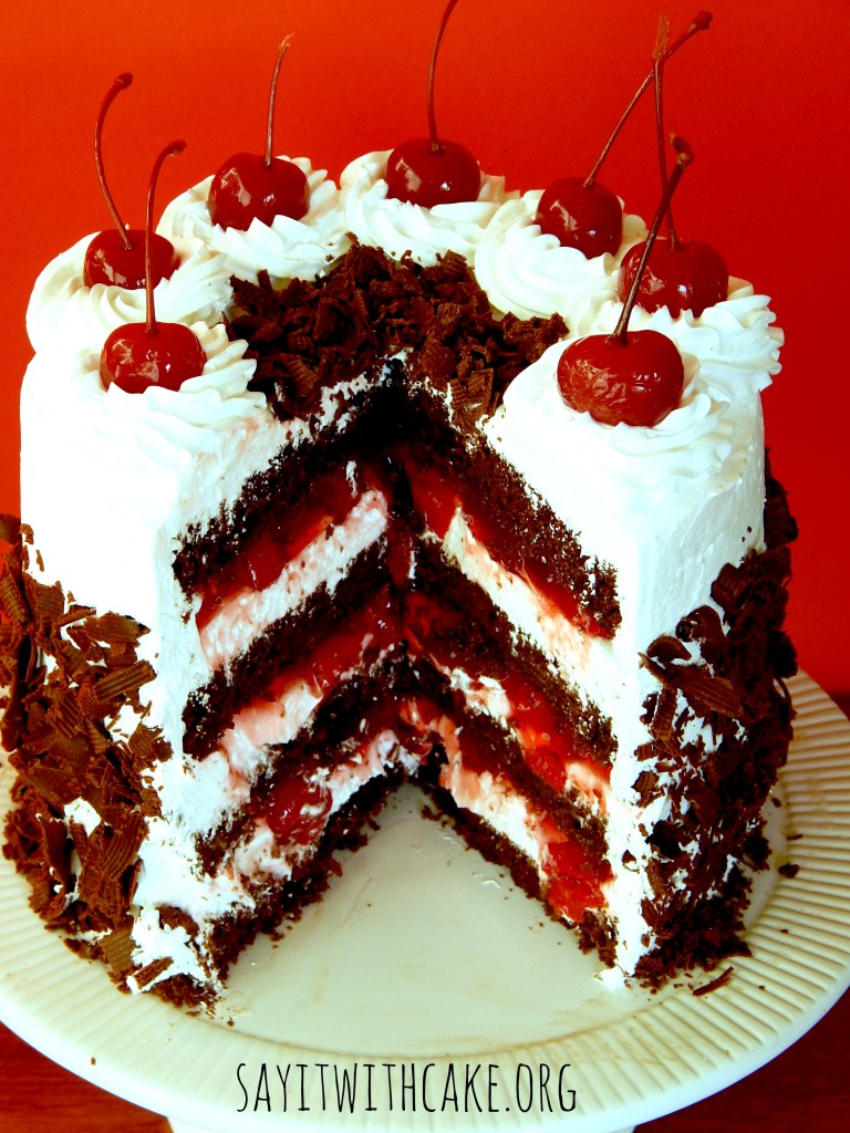 Black Forest Cake Easy Cherry Filling