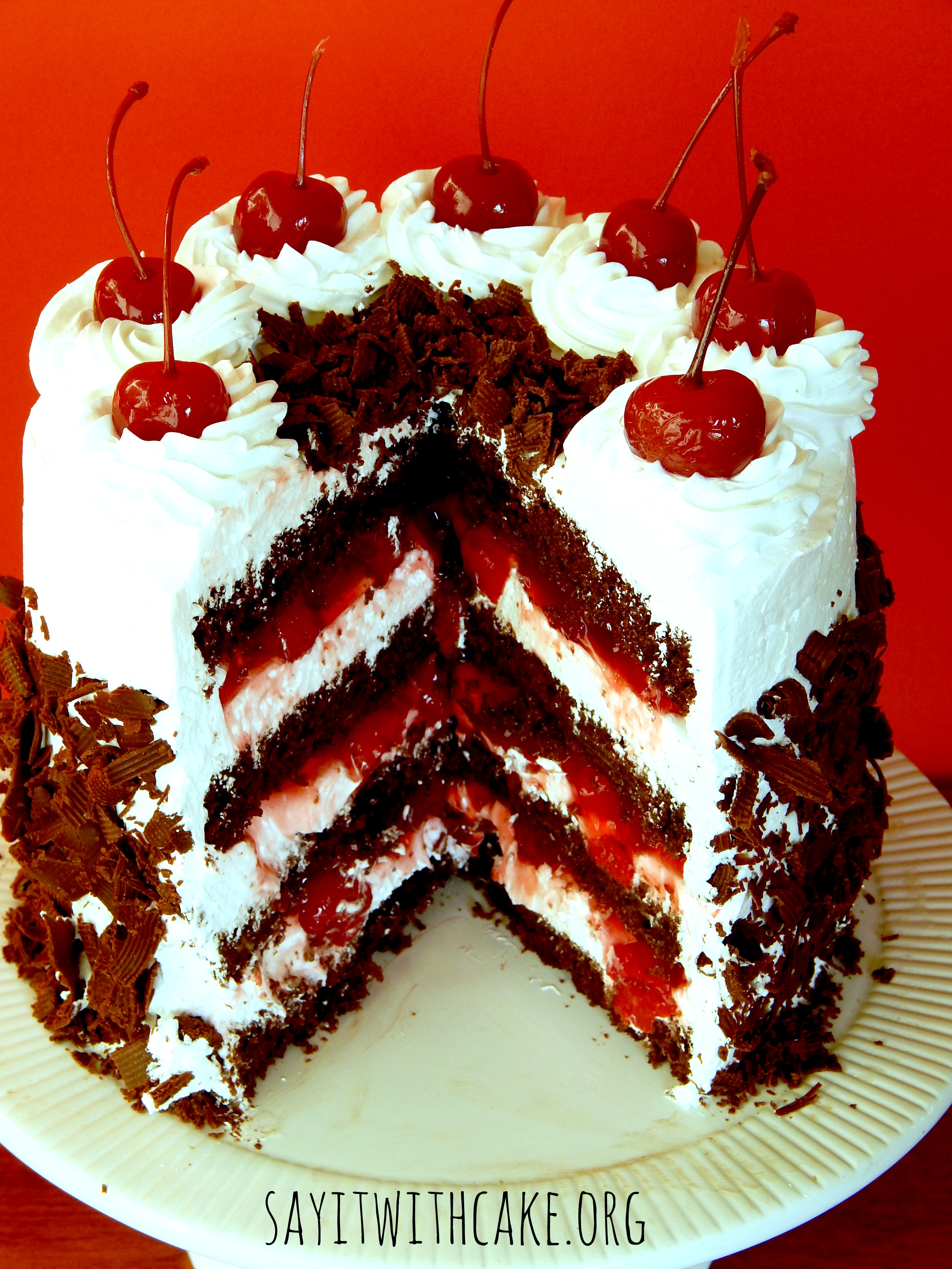 Black Forest Cake | Say it With Cake