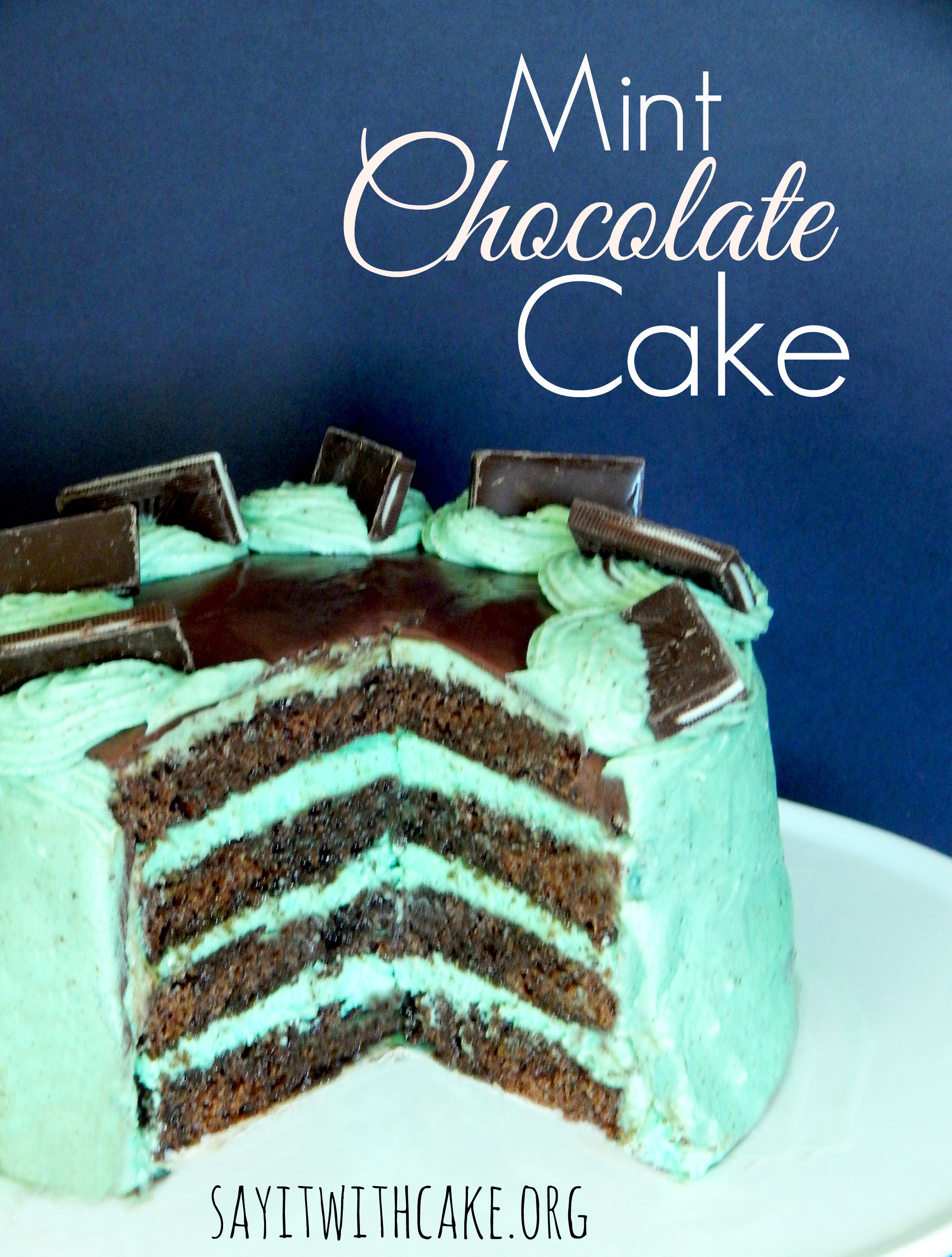 andes chocolate mint cake
