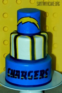 chargerscake