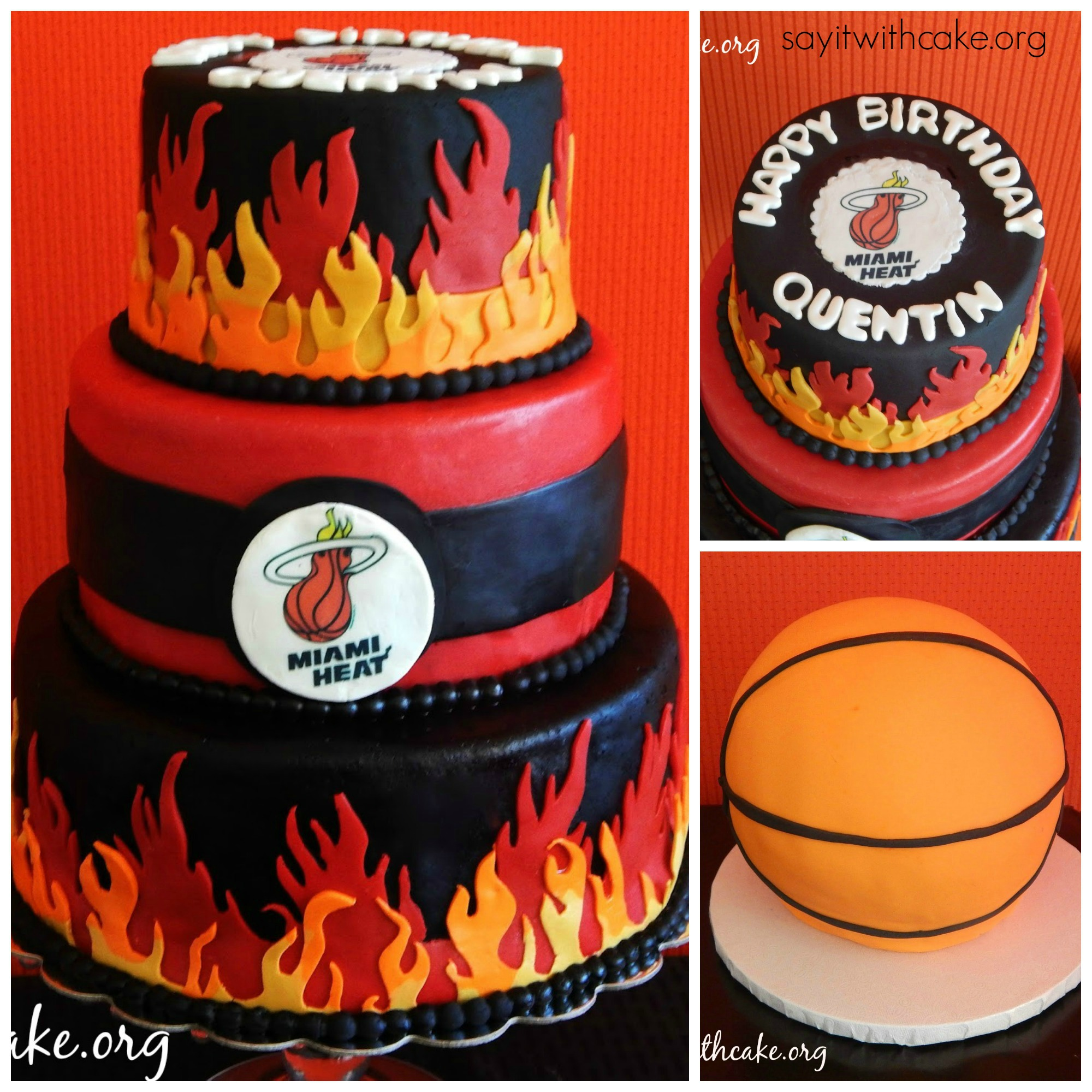 Miami Heat: Say It With Cake