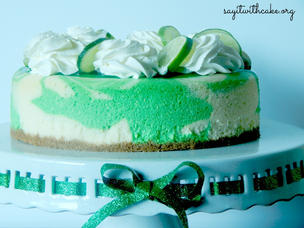Saint Patrick S Day Key Lime Cheesecake Say It With Cake