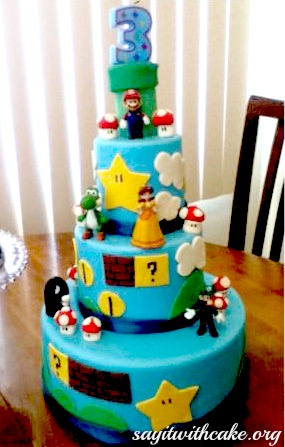 Super Mario Bros Party! | Say it With Cake