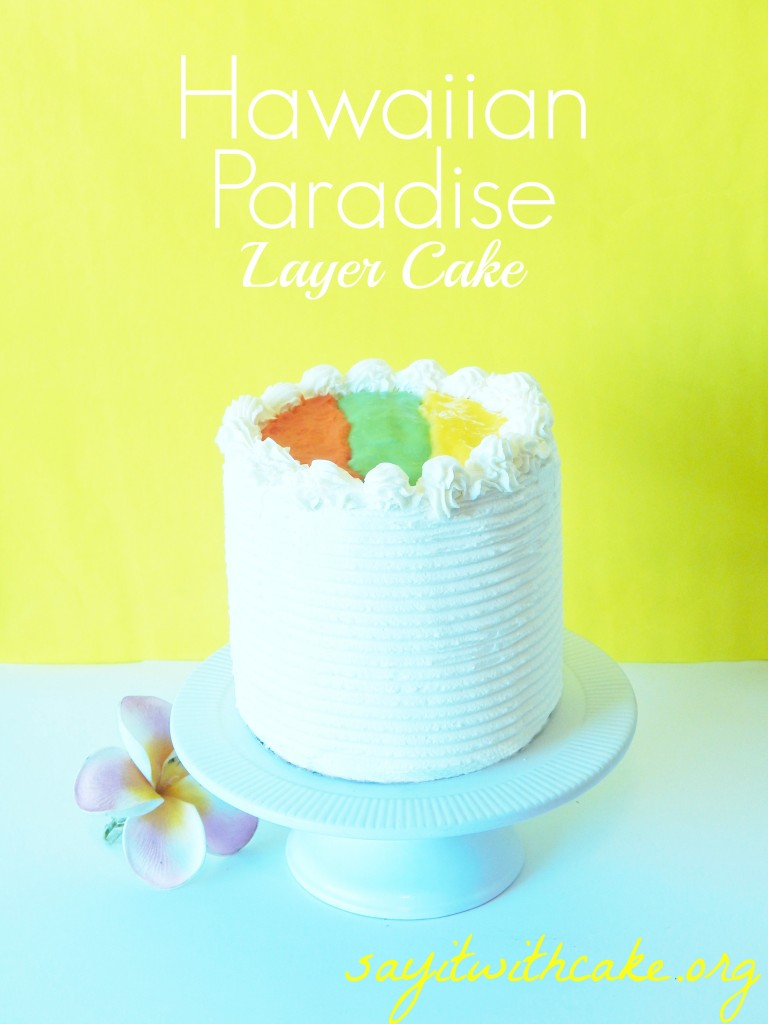 Hawaiian Paradise layer cake