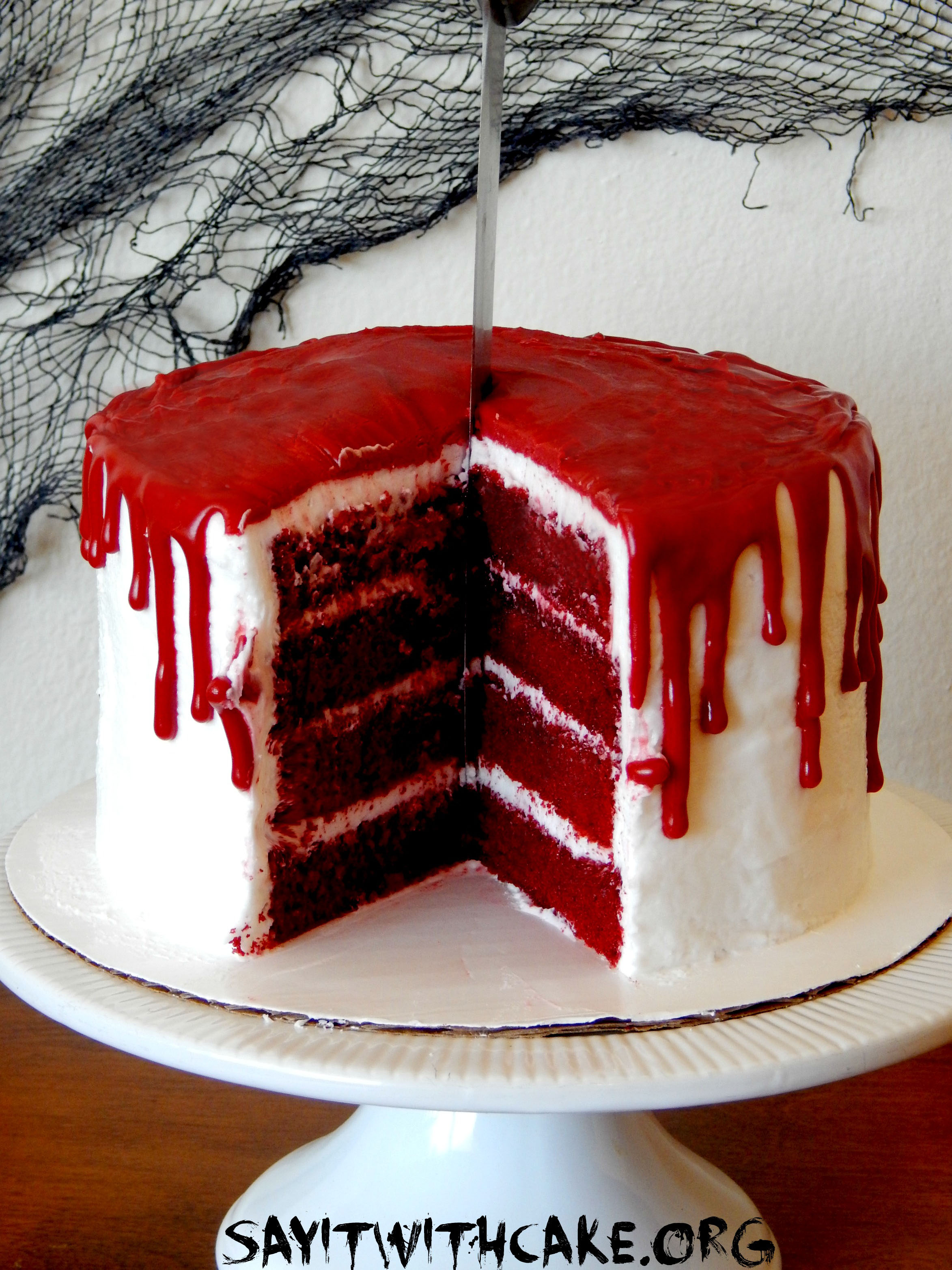 Bloody Halloween Cake | Say it With Cake