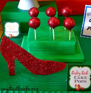 cakepops ruby red