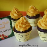 Yellow brick road cupcakes