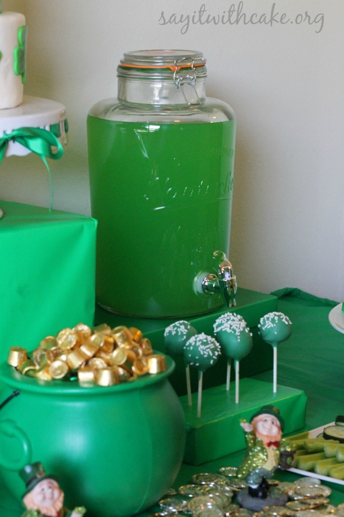 St. Paddy's Day punch