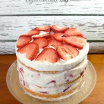 Layered Tres Leche Cake with Strawberries