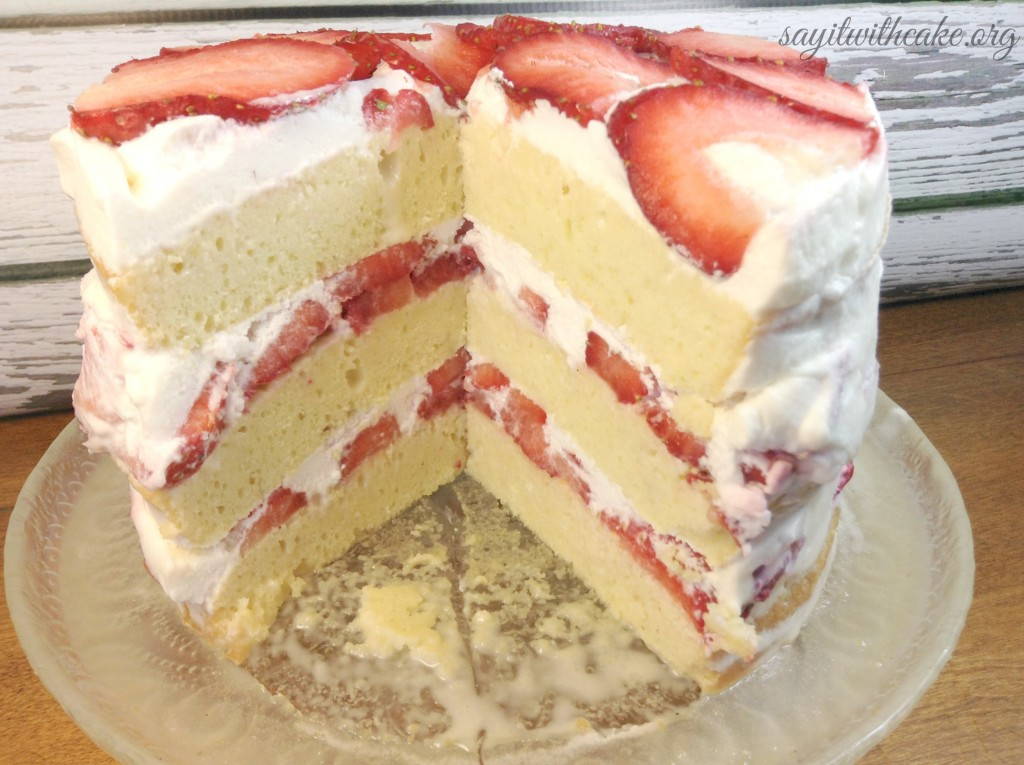 White Chocolate Tres Leches Cake