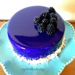 Blackberry Mousse Entremet