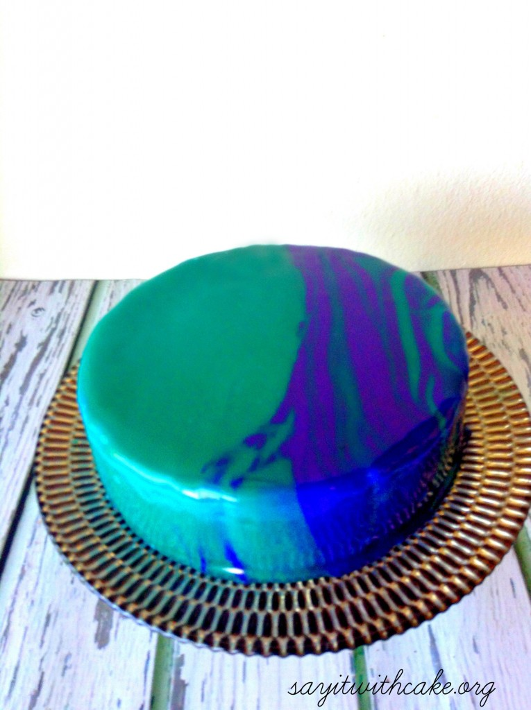 Mirror Glaze Cake Say It With Cake
