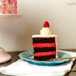 Chocolate Raspberry Mud Cake