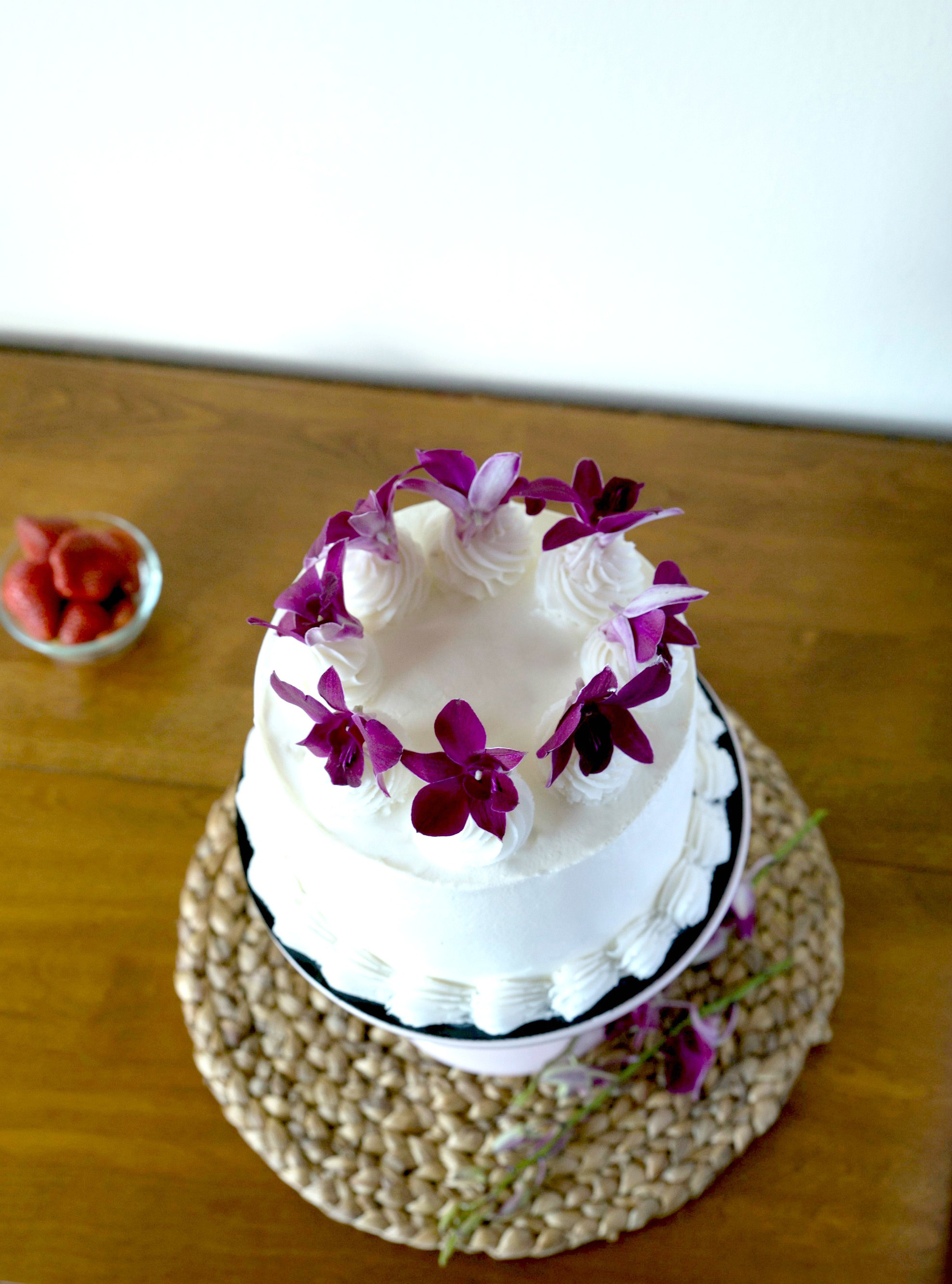 Passion Fruit Guava And Lime Chiffon Cake Say It With Cake