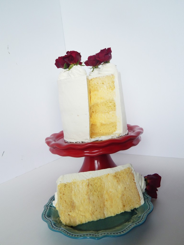 Eggnog Tres Leches Layer Cake | Say it With Cake