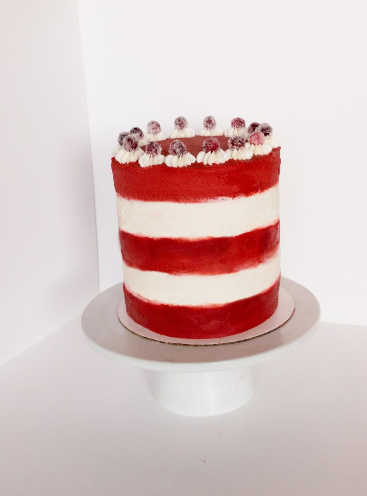 Cheesecake Red Velvet Layer Cake Say It With Cake