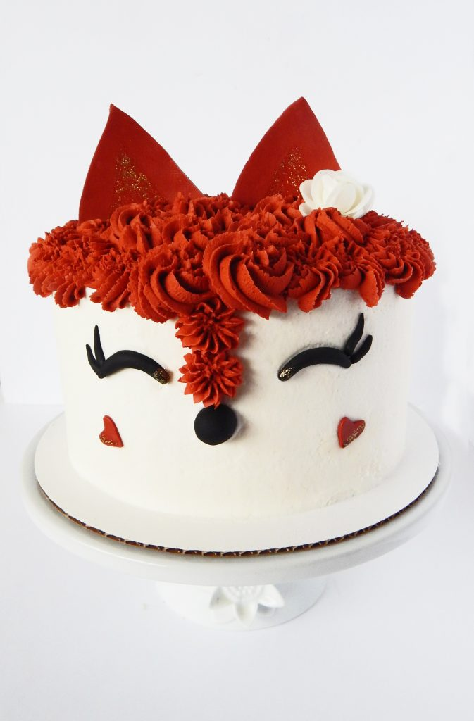 Fox Cake Say It With Cake